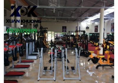 setup phòng gym đầy đu máy móc thiết bi chỉ co 150tr ,bảo hành 10 năm