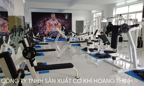 Thiết bị phòng gym hiện đại thiết bị xuân Khương
